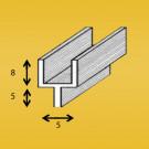 Loodprofiel Y8mm (isolatie)