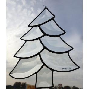 Facet kerstboom 160x210