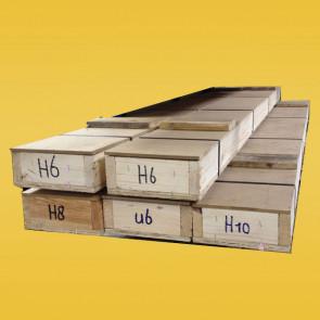 Loodprofiel kist 100m H12ST (staalkern)