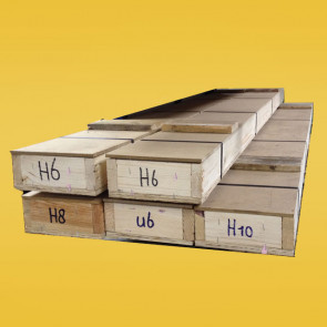 Loodprofiel kist 100m H10-5ST (staalkern)