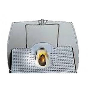 Gezichtsbeschermer voor slijpmachine  met loep (Inland)