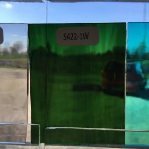 S422-1 (7x7) gemixt olijf-zeegroen-Water