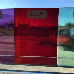 S451-20 (7x7) gemixt rood-amber-Water